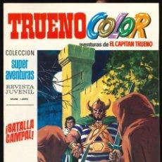 Tebeos: TRUENO COLOR (1ª ÉPOCA) - BRUGUERA / NÚMERO 65 ** IMPECABLE**. Lote 257655540