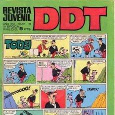 Tebeos: DDT-III ÉPOCA- Nº 53 -ENTREVISTA A JEAN GIRAUD-ASTÉRIX-1968-ESCANDELL-ANACLETO-DIFÍCIL-LEA-4625. Lote 257684435