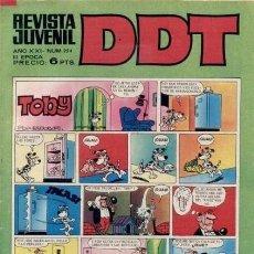Tebeos: DDT -III ÉPOCA- Nº 254 -SEÑORITA ANA-ASPIRINO-DON PELMAZO-MUSTAFÍN-SIN MORTADELOS-1972-DIFÍCIL-4627. Lote 257697480