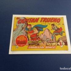 Tebeos: EL CAPITAN TRUENO Nº 244 -ORIGINAL -VER CALIFICACION DEL ESTADO INDIVIDUAL DEL MISMO-. Lote 257766970