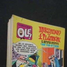 Tebeos: MORTADELO Y FILEMON,MOSCONES A REACCION,EL BOTONES SACARINO Y SIR TIM O'THEO,NUMERO 175, BRUGERA,OLE. Lote 257956855