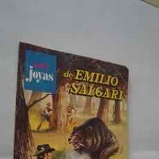 Tebeos: SUPER JOYAS LITERARIAS JUVENILES NUMERO 29 DE EMILIO SALGARI, EDITORIAL BRUGUERA, CONTIENE 3 TITULOS. Lote 257995760