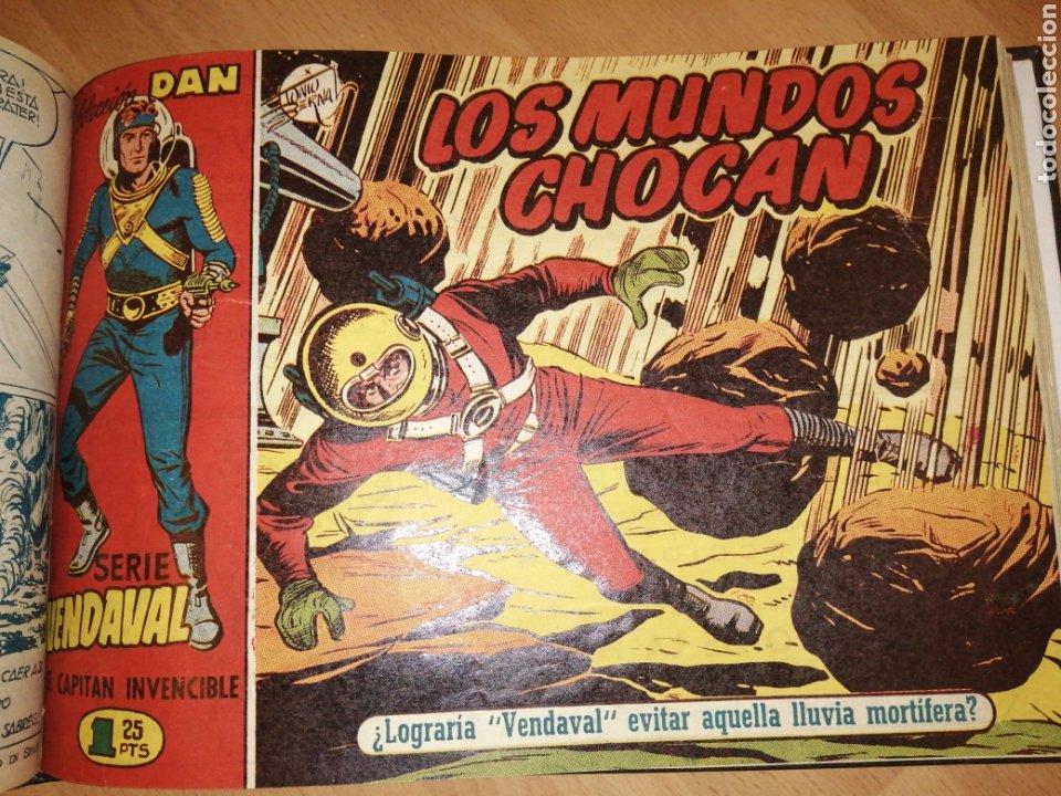 Tebeos: Vendaval, el capitán invencible. Colección completa encuadernada - Foto 10 - 258011380