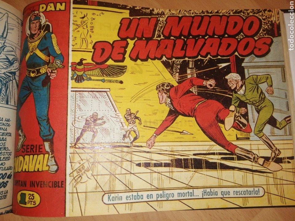 Tebeos: Vendaval, el capitán invencible. Colección completa encuadernada - Foto 15 - 258011380