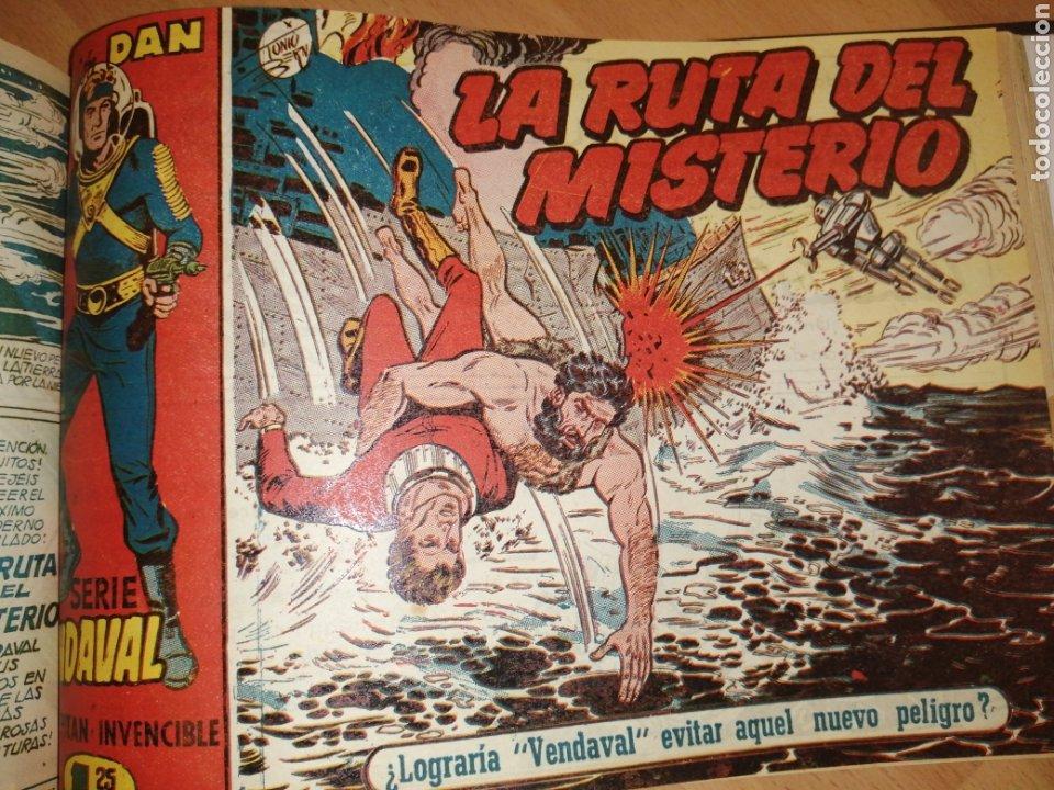 Tebeos: Vendaval, el capitán invencible. Colección completa encuadernada - Foto 16 - 258011380