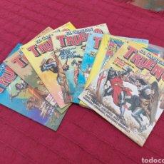 Tebeos: EL CAPITÁN TRUENO BRUGUERA 1986,COMIC DE AVENTURAS N°S:1,2,3,4,5,9 Y 11. VICTOR MORA Y JESUS BLASCO. Lote 258123655