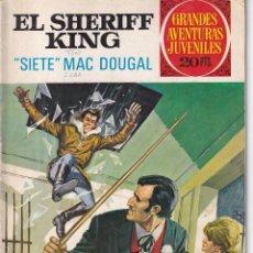 Tebeos: EL SHERIFF KING: NUMERO 22 SIETE MAC DOUGLAS, EDITORIAL BRUGUERA. Lote 258246330