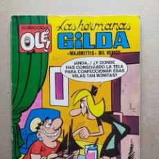 Tebeos: COLECCION OLE: LAS HERMANAS GILDA Nº 33 (NUMERO EN EL LOMO) - EDITORIAL BRUGUERA 1ª EDICIÓN. 1971. Lote 258496890