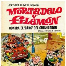 BDs: ASES DEL HUMOR: CONTRA EL GANG DEL CHICHARRÓN.1ª EDICIÓN 1969. TRASERA VERDE.LEER.. Lote 258513400