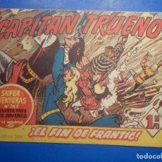 Livros de Banda Desenhada: COMIC - EL CAPITAN TRUENO NÚMERO, Nº 171 ¡ EL FIN DE FRANTIC ! - BRUGUERA 11-1-1960, ORIGINAL. Lote 258816985