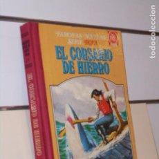 Livros de Banda Desenhada: TOMO FAMOSAS NOVELAS SERIE ROJA IV (4) EL CORSARIO DE HIERRO - BRUGUERA 1ª EDICION 1979. Lote 258993480
