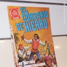 Livros de Banda Desenhada: JOYAS LITERARIAS JUVENILES S. ROJA EL CORSARIO DE HIERRO Nº 54 LOS BUITRES DEL MEDITERRA - BRUGUERA. Lote 258997590