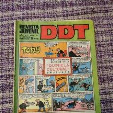 Tebeos: COMIS DDT NÚMERO 37. Lote 259921370