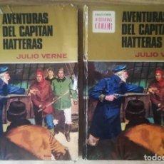 Tebeos: AVENTURAS DEL CAPITÁN HATTERAS (JULIO VERNE) COLECCIÓN HISTORIAS COLOR BRUGUERA 1974. Lote 260287365