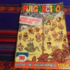 Tebeos: MUY BUEN ESTADO, PULGARCITO EXTRA DE VACACIONES 1968 CON EL SHERIFF KING. BRUGUERA 15 PTS. DIFÍCIL.. Lote 260455995