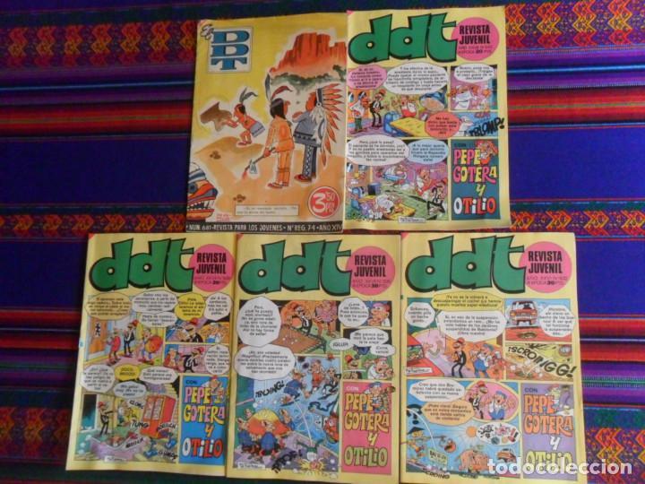 DDT III ÉPOCA NºS 532, 535, 539 Y 543. BRUGUERA 1978. 20 PTS. REGALO Nº 681. MUY BUEN ESTADO. (Tebeos y Comics - Bruguera - DDT)