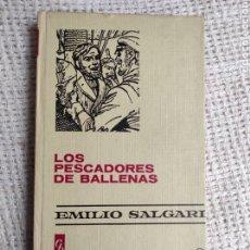 Tebeos: LOS PESCADORES DE BALLENAS -COLECCION HISTORIAS -EMILIO SALGARI Nº 15 ED. BRUGUERA - 1ª EDICION 1974. Lote 260457845