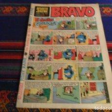 Tebeos: REVISTA JUVENIL BRAVO Nº 46 Y ÚLTIMO. BRUGUERA 1968. 5 PTS. MUY DIFÍCIL.. Lote 260501140
