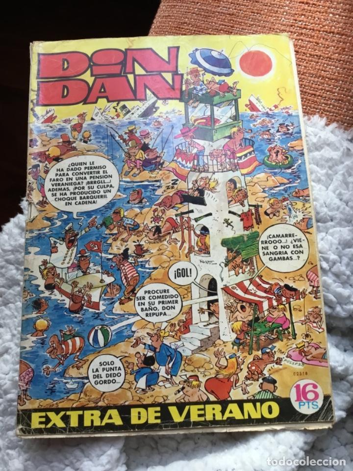 DIN DAN - EXTRA DE VERANO 1971 - BRUGUERA (Tebeos y Comics - Bruguera - Din Dan)