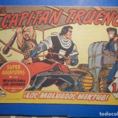 Livros de Banda Desenhada: COMIC - EL CAPITAN TRUENO NÚMERO, Nº 206 - ¡ LOS MALVADOS MEKTUB ! BRUGUERA 12 - 9 - 1960, ORIGINAL. Lote 260785015