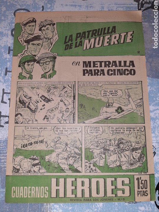 LA PATRULLA DE LA MUERTE N°2, BRUGUERA (Tebeos y Comics - Bruguera - Otros)