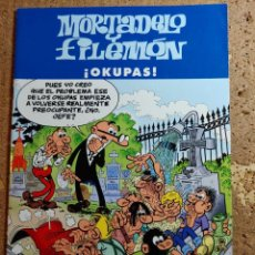 Tebeos: COMIC DE MORTADELO Y FILEMÓN EN OKUPAS. Lote 261178020