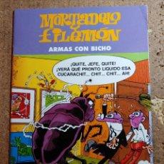 Tebeos: COMIC DE MORTADELO Y FILEMÓN EN ARMAS CON BICHO. Lote 261178645