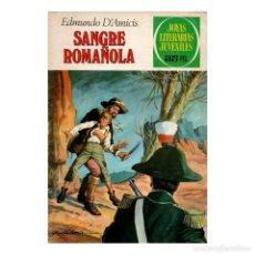 Tebeos: JOYAS LITERARIAS JUVENILES- Nº 84 -SANGRE ROMAÑOLA-3ª ED. A.GUERRERO-DIFÍCIL-CASI BUENO-LEA-4677. Lote 261183570