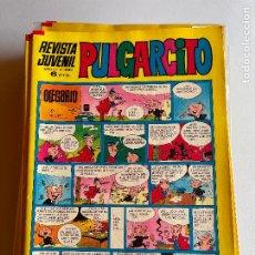 Tebeos: BRUGUERA PULGARCITO NUMERO 2080 CON EL SHERIF KING MUY BUEN ESTADO. Lote 261225180