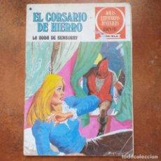 BDs: LA BODA DE BENBURRY. EL CORSARIO DE HIERRO. JOYAS LITERARIAS JUVENILES SERIE ROJA NUM 41. Lote 261262875