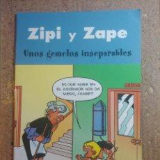 Tebeos: COMIC DE ZIPI Y ZAPE EN UNOS GEMELOS INSEPARABLES. Lote 261338210