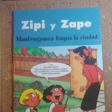 Tebeos: COMIC DE ZIPI Y ZAPE EN MANTENGAMOS LIMPIA LA CIUDAD. Lote 261338420