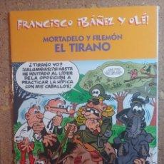 Tebeos: COMIC DE FRANCIASCO IBAÑEZ Y OLE MORTADELO Y FILEMON EN EL TIRANO. Lote 261339115