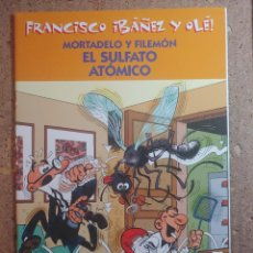 Tebeos: COMIC DE FRANCIASCO IBAÑEZ Y OLE MORTADELO Y FILEMON EN EL SULFATO ATOMICO. Lote 261339260