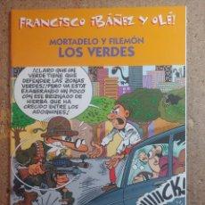 Tebeos: COMIC DE FRANCIASCO IBAÑEZ Y OLE MORTADELO Y FILEMON EN LOS VERDES. Lote 261339385