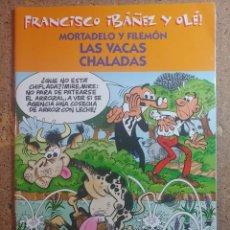 Tebeos: COMIC DE FRANCIASCO IBAÑEZ Y OLE MORTADELO Y FILEMON EN LAS VACAS CHALADAS. Lote 261339535