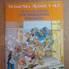 Tebeos: COMIC DE FRANCIASCO IBAÑEZ Y OLE 13 RUE DEL PERCEBE EN LOS INQUILINOS POLLINOS. Lote 261339910