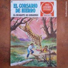 BDs: EL DESQUITE DE BINDAMBO. CORSARIO DE HIERRO. JOYAS LITERARIAS JUVENILES SERIE ROJA NUM 24. Lote 261536030