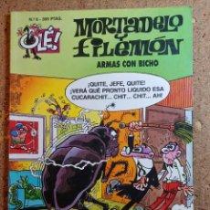 Livros de Banda Desenhada: COMIC DE OLE MORTADELO Y FILEMON EN ARMAS CON BICHO DEL AÑO 1996 Nº 6. Lote 261570675
