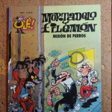 Tebeos: COMIC DE OLE MORTADELO Y FILEMON EN MISION DE PERROS DEL AÑO 2002 Nº 51. Lote 261572360