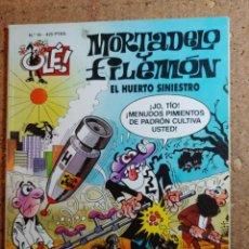 Tebeos: COMIC DE OLE MORTADELO Y FILEMON EN EL HUERTO SINIESTRO DEL AÑO 1999 Nº 16. Lote 261572645