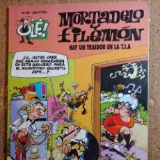 Livros de Banda Desenhada: COMIC DE OLE MORTADELO Y FILEMON EN HAY UN TRAIDOR EN LA T.I.A. DEL AÑO 1994 Nº 89. Lote 261573505