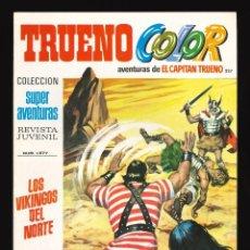 Tebeos: TRUENO COLOR (1ª ÉPOCA) - BRUGUERA / NÚMERO 227 ***IMPECABLE***. Lote 261636405