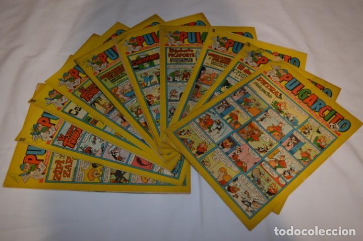 PULGARCITO 3 PTS. / 10 EJEMPLARES VARIADOS / AÑOS 60 - XLII Y XLIII - CON EL INSPECTOR DAN / LOTE 02 (Tebeos y Comics - Bruguera - Pulgarcito)
