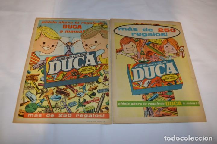 Tebeos: PULGARCITO 3 Pts. / 10 Ejemplares variados / Años 60 - XLII y XLIII - Con El Inspector DAN / Lote 02 - Foto 3 - 261677940