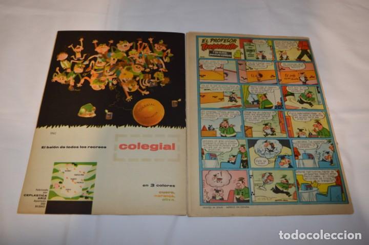 Tebeos: PULGARCITO 3 Pts. / 10 Ejemplares variados / Años 60 - XLII y XLIII - Con El Inspector DAN / Lote 02 - Foto 7 - 261677940