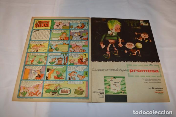 Tebeos: PULGARCITO 3 Pts. / 10 Ejemplares variados / Años 60 - XLII y XLIII - Con El Inspector DAN / Lote 02 - Foto 9 - 261677940