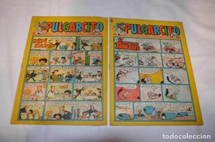 Tebeos: PULGARCITO 3 Pts. / 10 Ejemplares variados / Años 60 - XLII y XLIII - Con El Inspector DAN / Lote 02 - Foto 10 - 261677940