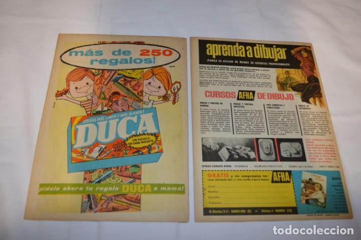 Tebeos: PULGARCITO 3 Pts. / 10 Ejemplares variados / Años 60 - XLII y XLIII - Con El Inspector DAN / Lote 02 - Foto 11 - 261677940