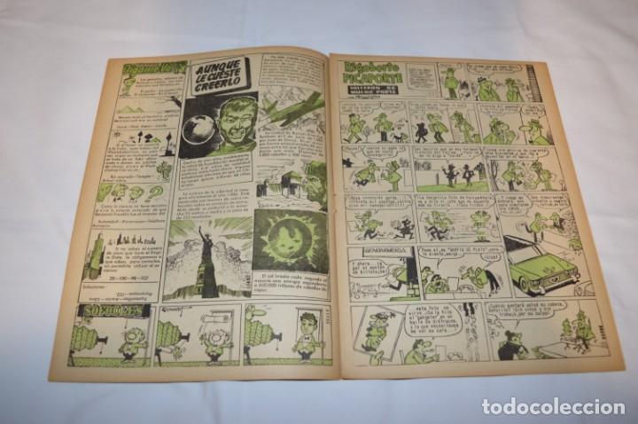 Tebeos: PULGARCITO 3 Pts. / 10 Ejemplares variados / Años 60 - XLII y XLIII - Con El Inspector DAN / Lote 02 - Foto 12 - 261677940